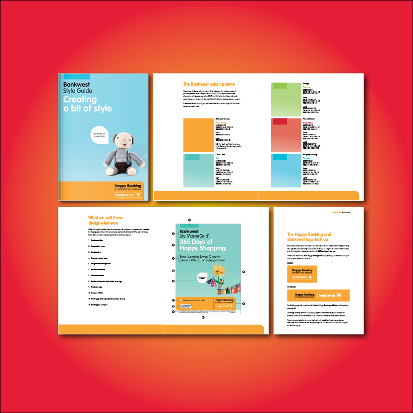 Business brand guidelines for design agencies