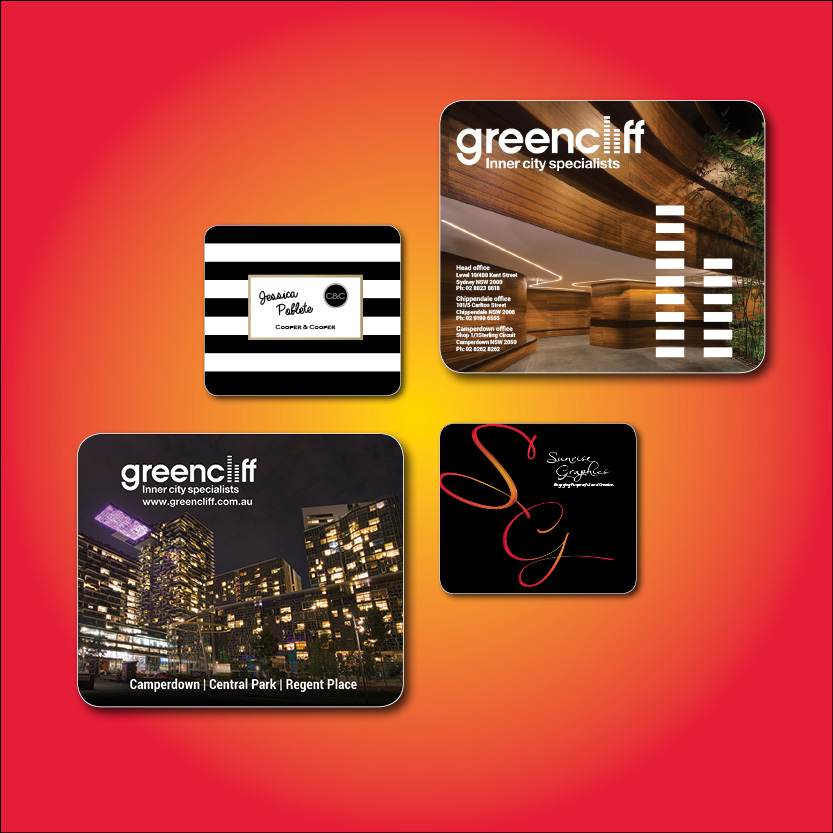 Merchandise mouse pads, key rings, usb