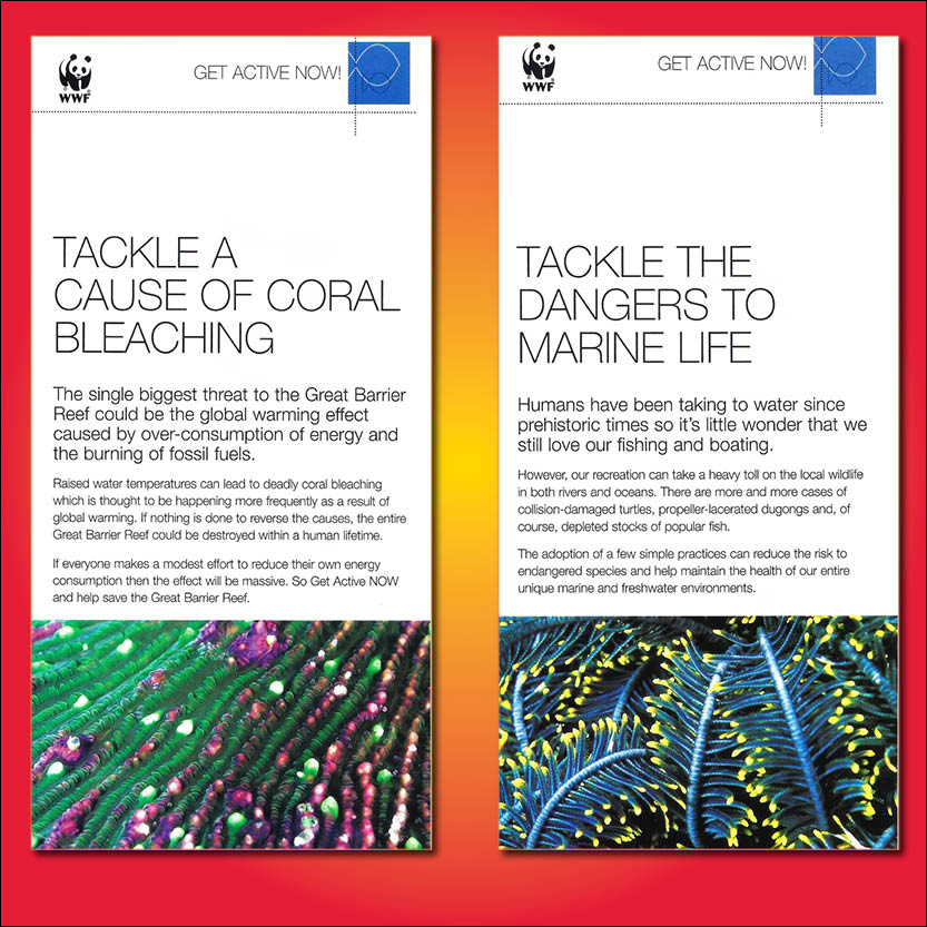 WWF Great Barrier Reef Campaign